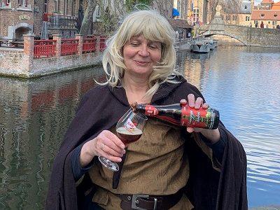 met Katelijne van Brugge op stap