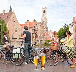 Brugge, Beer & Bike, een ontspannende activiteit